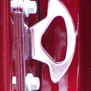 Chrome Bed Hook